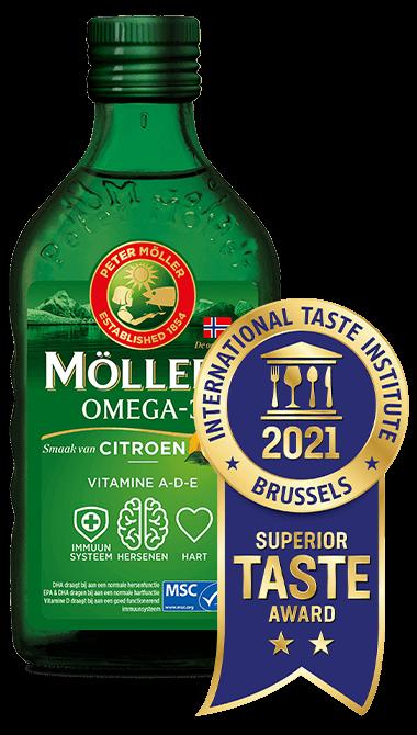 Möller's Omega-3 Lemon Superior Taste Award