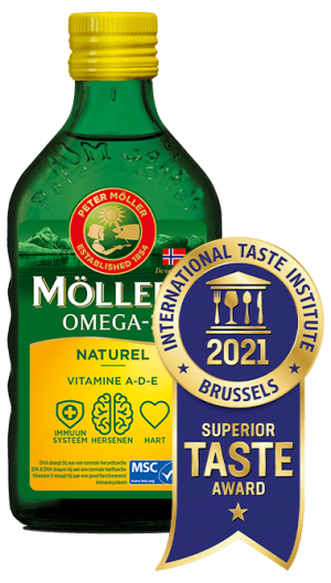 Möller's Omega-3 Natural Superior Taste Award