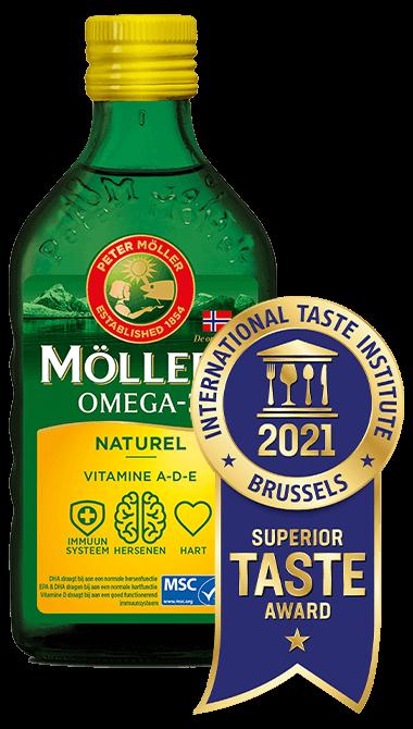 Möller's Omega-3 Natural Superior Taste Award