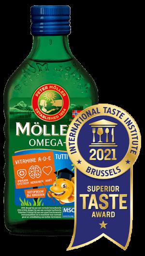 Möller's Omega-3 Tutti Frutti Superior Taste Award