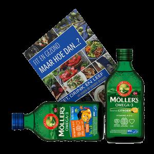 Möller's Lifestyle Booster Pack 2x 250ml + Book (Dutch)
