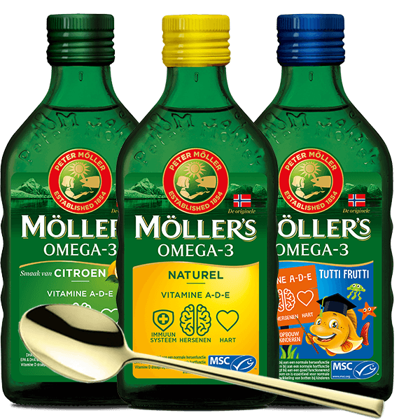 Möller's Golden Spoon Pack