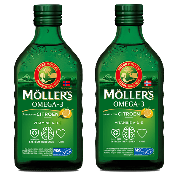 Möller's Immunity Booster Pack 2x 250ml